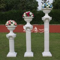 Flower Columns Weddings Notice That The Beginning Of This Wedding