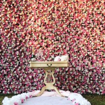 Flower Wall Rental, Wedding Flowers, California