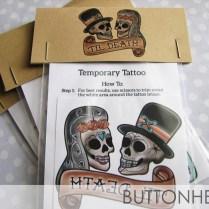 Halloween Wedding Favors – Sugar Skull Wedding Favors • Buttonhead