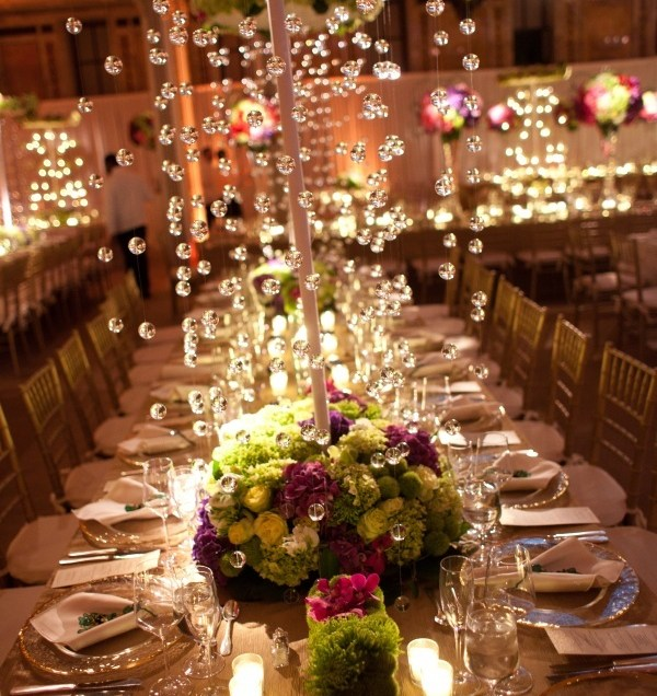 Hanging Crystals For Wedding Decorations Wedding Decorating