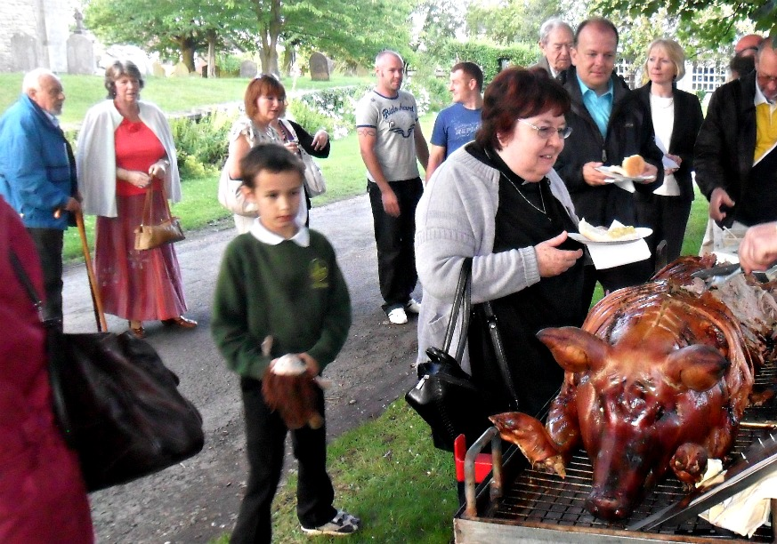Hog Roast For Wedding Reception