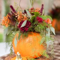 How To Diy Pumpkin Vase Centerpieces To Spruce Up Your Fall