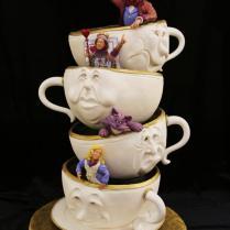 In Wonderland Wedding Cake Ideas