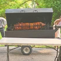Indianhead ,il Wedding Reception Pig Roast