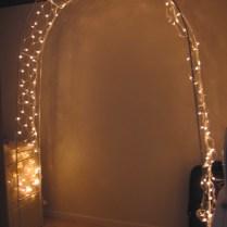 Indoor Wedding Arch