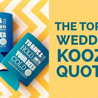 Koozies For Wedding
