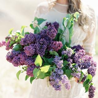 Lilac Wedding Flower Inspiration