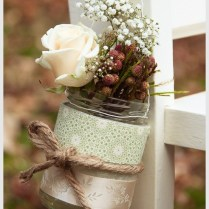 Lovable Ideas For Mason Jars In Wedding Mason Jar Ideas For