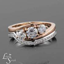 Low Profile Wedding Rings Home Low Profile Ruby Diamond Halo