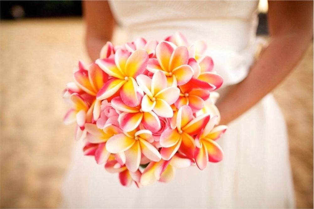 Hawaiian Wedding Flower Bouquets