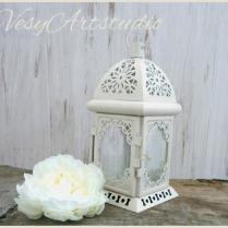 Moroccan Lantern Rustic Lantern Wedding Lantern Metal Candle