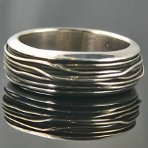 Native American Sterling Silver Wedding Bands