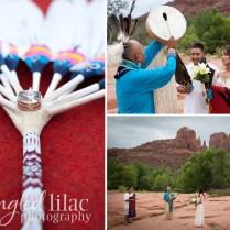 Native American Wedding At Red Rock Crossing {sedona Wedding