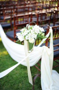 Outside Wedding Ceremony Aisle Decorations