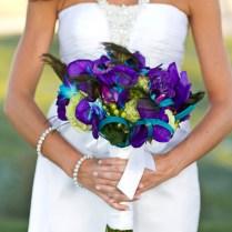Peacock Theme Las Vegas Golf Course Wedding To Remember
