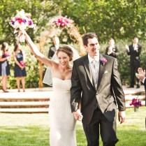 Pink & Navy Garden Wedding {part 1}