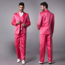 Pink Wedding Suits