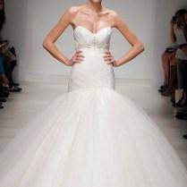 Pleated Tulle Wedding Dress