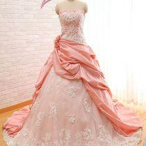 Popular Dusty Rose Wedding Dresses