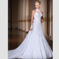 Popular Halter Wedding Gowns
