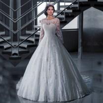 Popular Long Sleeve Winter Wedding Dresses