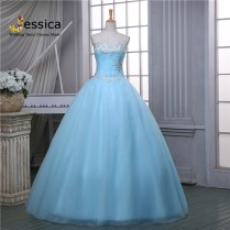 Popular Silver Bridal Dresses