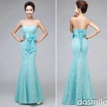 Popular Teal Blue Bridesmaid Dresses
