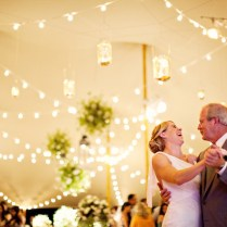 Professional Lighting For Your At Home Wedding