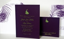 Purple And Green Wedding Reception Pictures