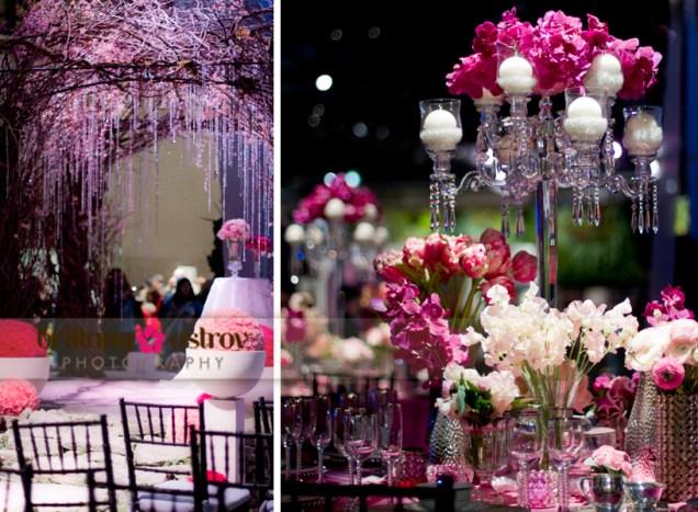 Purple And White Wedding Reception Ideas