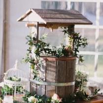 Rustic Wishing Well Wedding