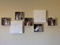 Set Of 2 Your Wedding Vows On Canvas Custom By Redbarncanvas