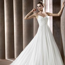 Silk Chiffon Wedding Dresses