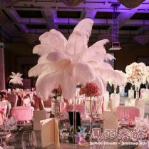 Snow White Wedding Decorations Ostrich Plumes Ostrich Feather For
