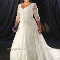 Strapless Dress For Super Plus Size Bride (beauty, Hiding, Thin