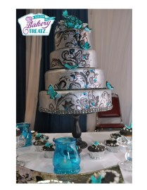 The Black, Silver Weddings And The Butterfly On Emasscraft Org
