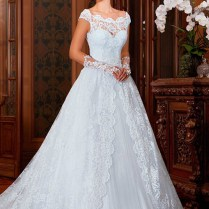 The Lavish Victorian Style Wedding Gowns For Demetrios Look Like