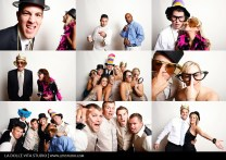 The Most Fun Any Wedding Guest Has Ever Had In A Photo Booth