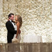 There Was A Flower Wall At This White And Gold Park Hyatt
