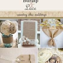Top 12 Rustic Burlap & Lace Wedding Decor Designs – Cheap & Easy