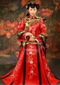 Traditional Chinese Wedding Clothing