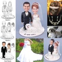Unique Wedding Cake Topper Figurines