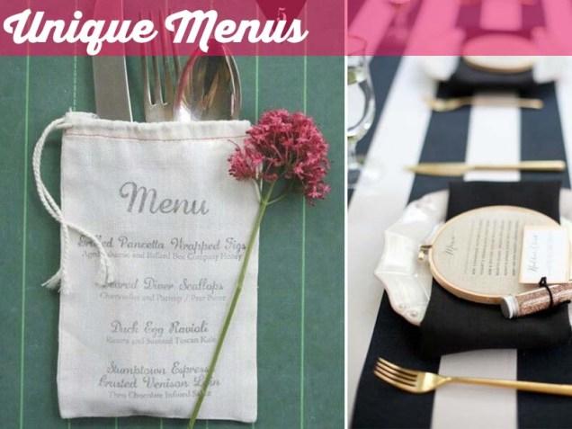 Unusual Wedding Catering Ideas
