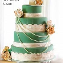 Vintage Alice In Wonderland Wedding Cake