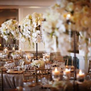 Vintage Gold Wedding At La Valencia Hotel La Jolla Ceremony