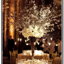 Vintage Wedding Centerpieces With Candles
