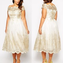 Vintage Wedding Dresses For Girls With Curves Flaunt It