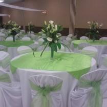 Wedding Decor Lime Green And White Image Ulhq