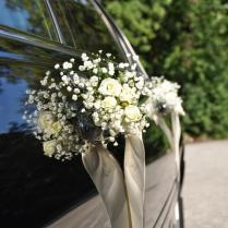 Wedding Decoration Town Car From Lakeview Limousine Service