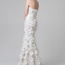 Wedding Dresses With Petals